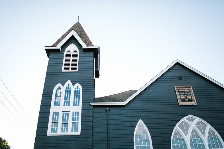 Sweet Church Wedding Venue // Photography ~ Maria Lamb