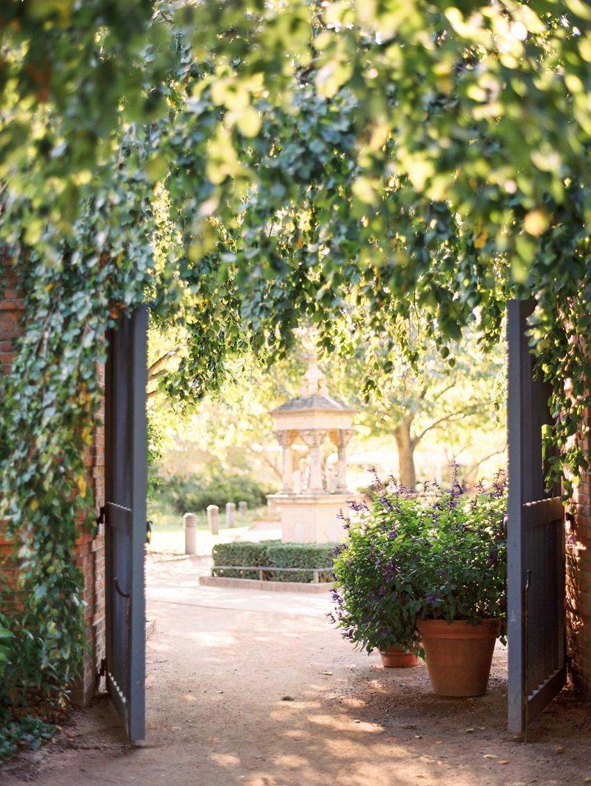 Fall Garden Wedding Reception // Photography ~ Kristin La Voie Photography