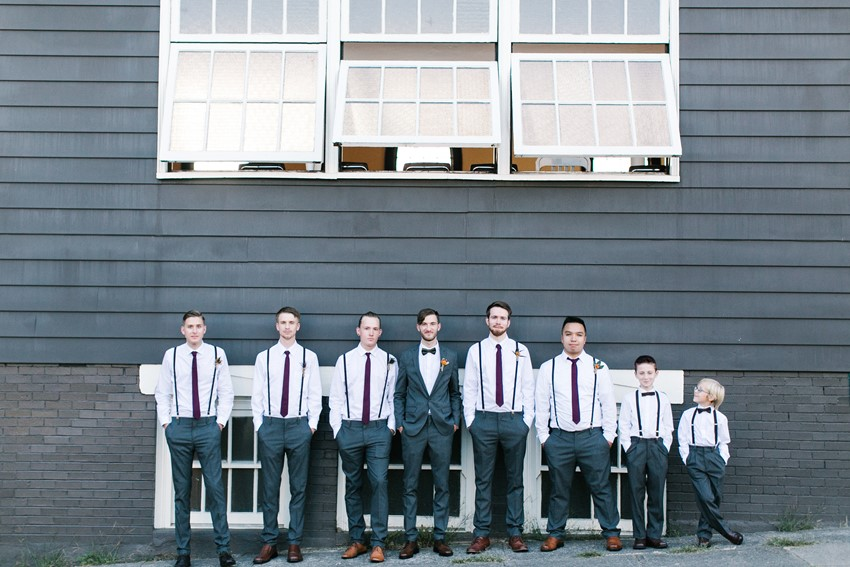 Vintage Groom & Groomsmen // Photography ~ Maria Lamb