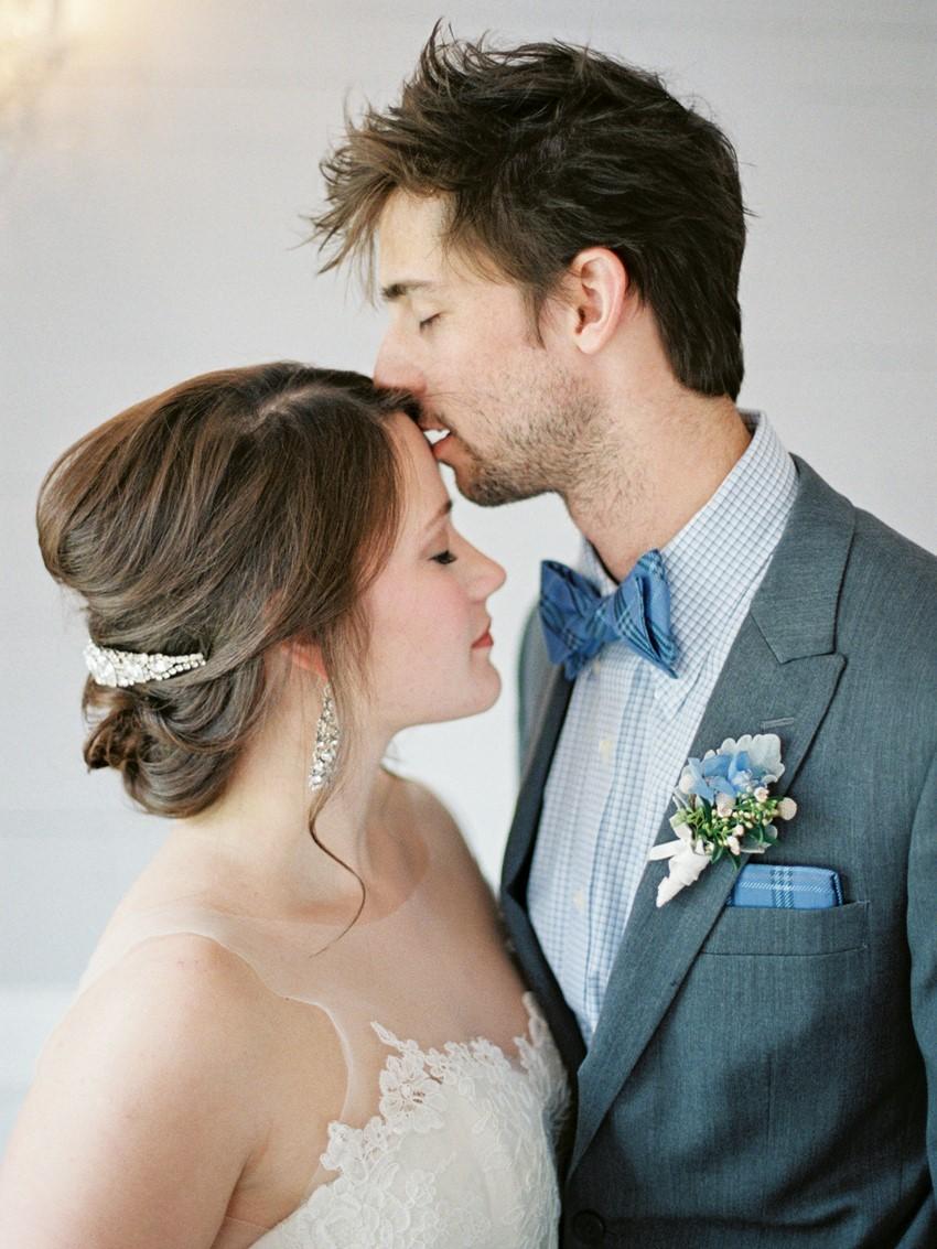 Romantic Bride & Groom Portrait // Photography ~ Live View Studios