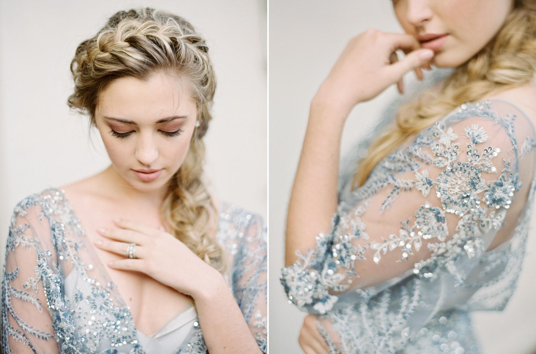 Romantic Bridal Hair & Makeup \\ Photography - Charla Storey