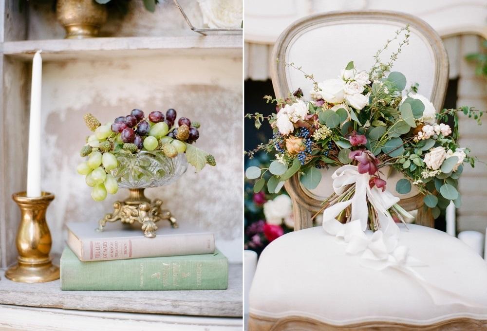 Elegant Vintage Wedding Decor // Photography ~ Rebecca Yale Photography