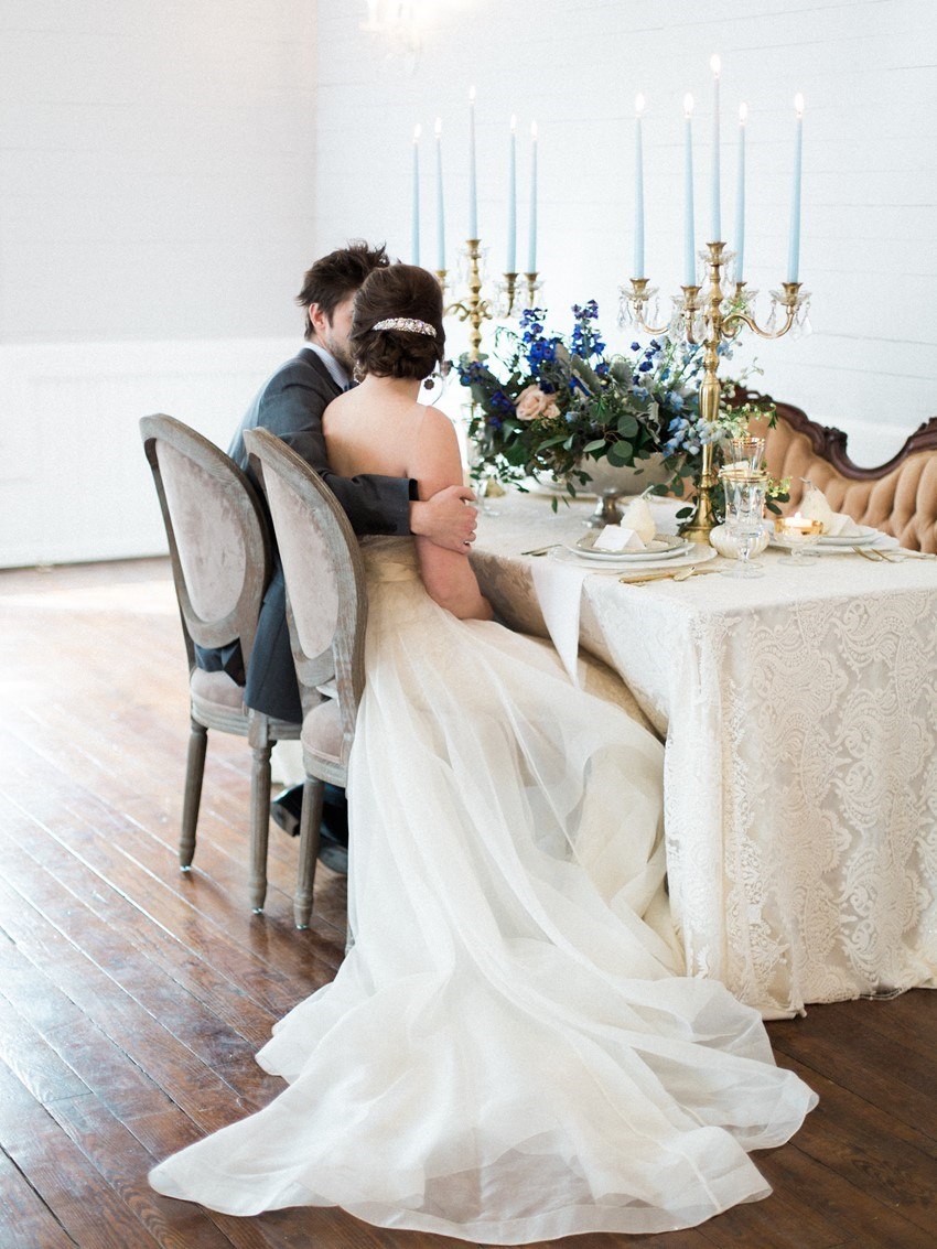 Intimate Wedding Tablescape // Photography ~ Live View Studios