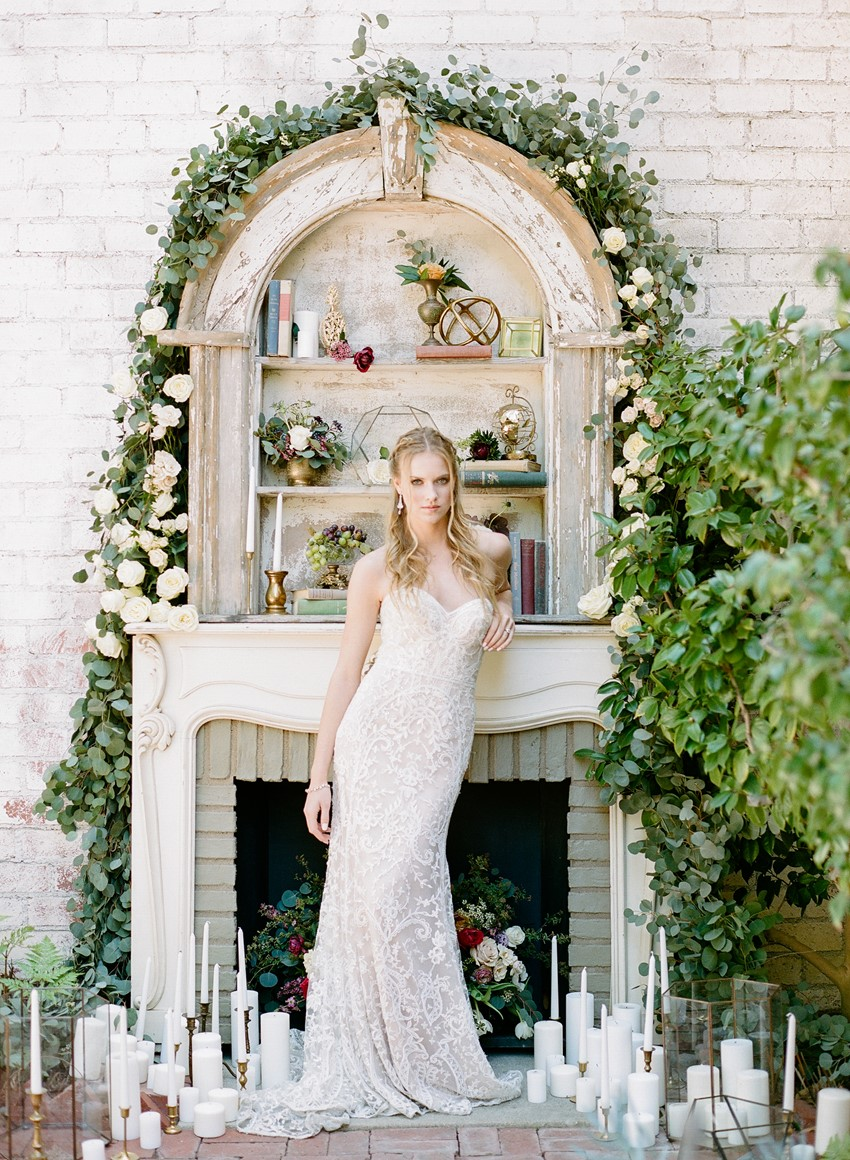 Elegant Modern Vintage Bride // Photography ~ Rebecca Yale Photography