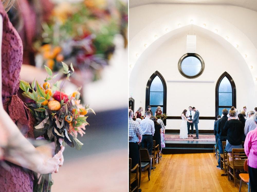 Church Vintage Wedding Ceremony // Photography ~ Maria Lamb