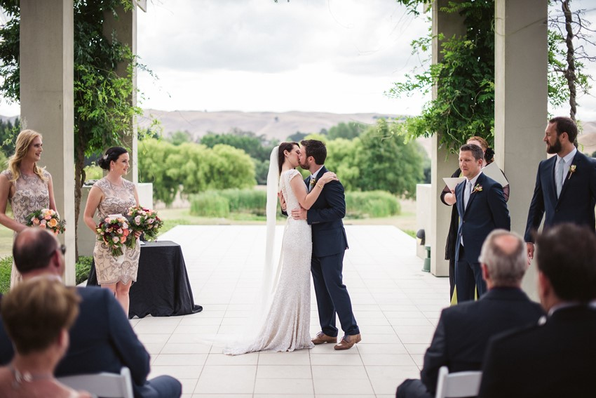 You May Kiss the Bride // Photography ~ Meredith Lord Photography