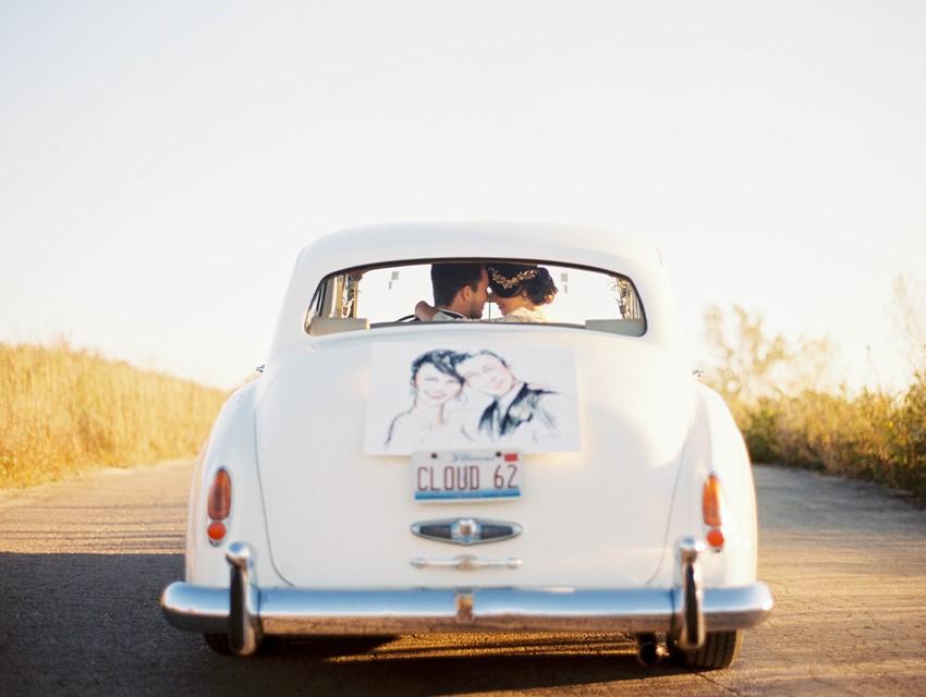 Vintage Getaway Car // Photography ~ Kristin La Voie Photography