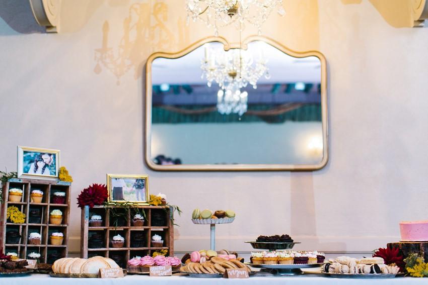 Wedding Dessert Table // Photography ~ Maria Lamb