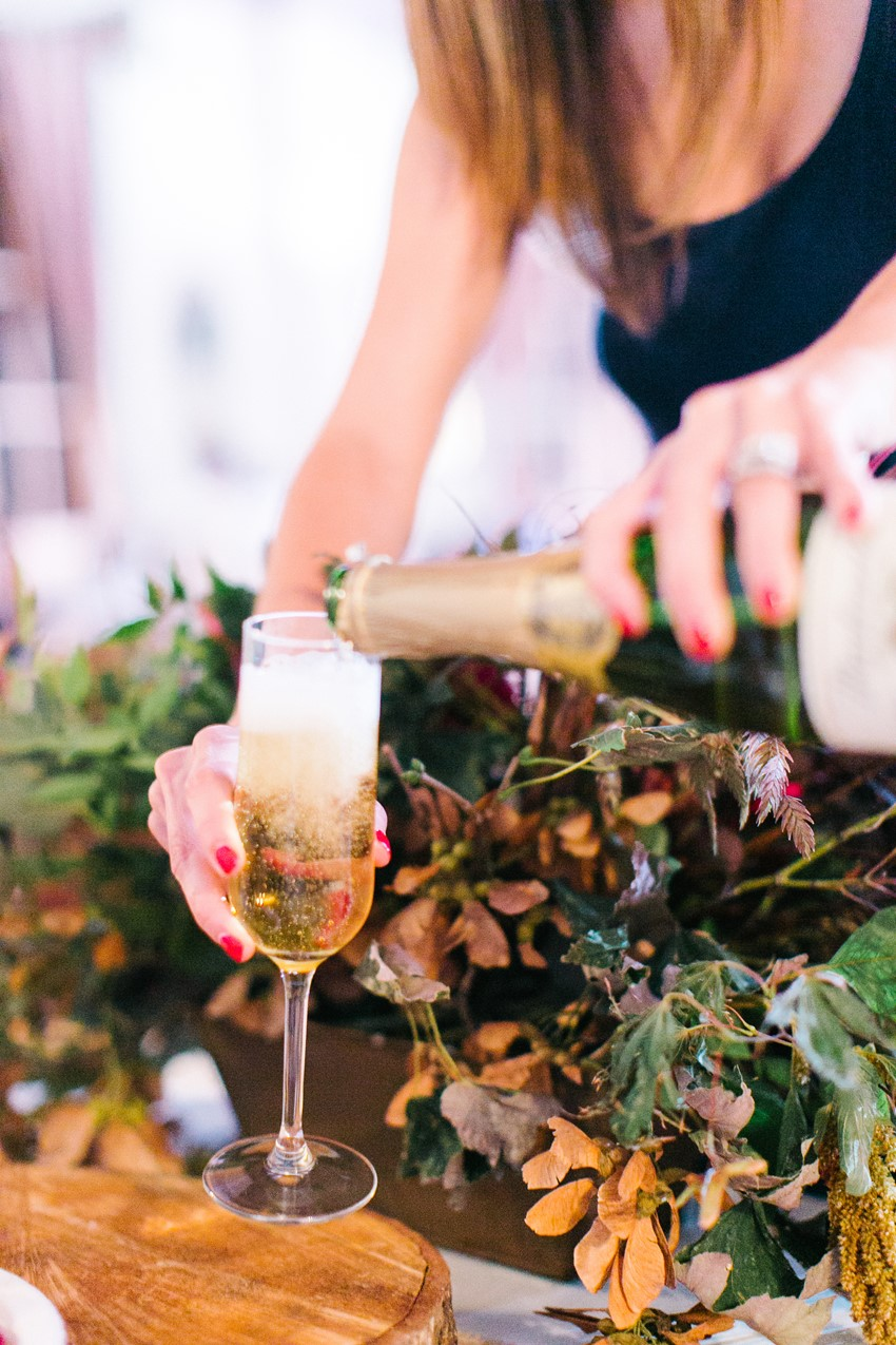 Wedding Pink Champagne // Photography ~ Maria Lamb