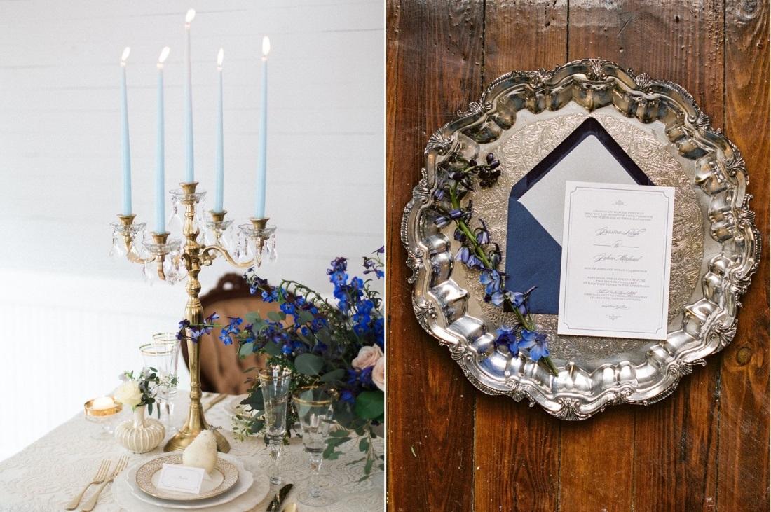 Blue Wedding Inspiration // Photography ~ Live View Studios
