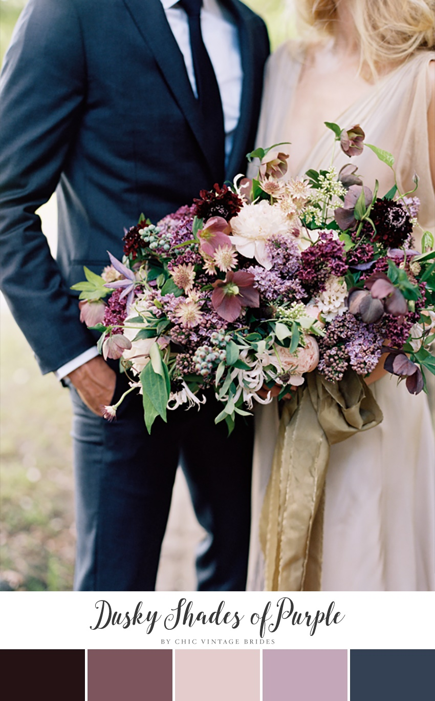 97a8d93ef 10 Stunning Autumn Wedding Colour Palettes - Chic Vintage Brides ...