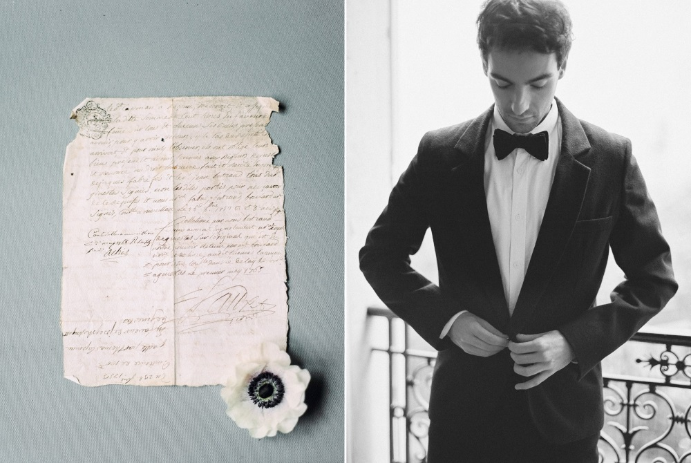 Paris Elopement Groom // Photography ~ Lara Lam