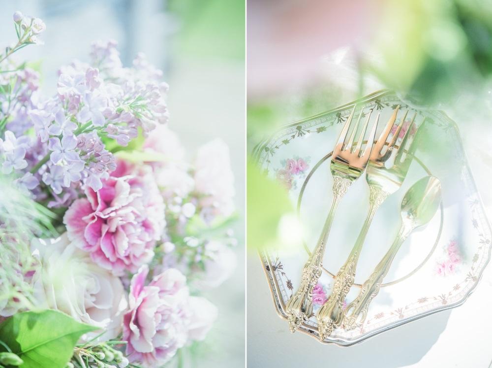 Serenity & Rose Quartz Wedding Decor // Photography ~ Injoy Imagery