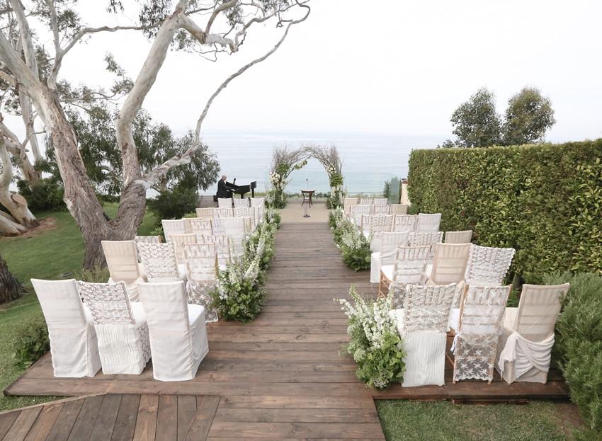 Stunning Wedding Ceremony Styling