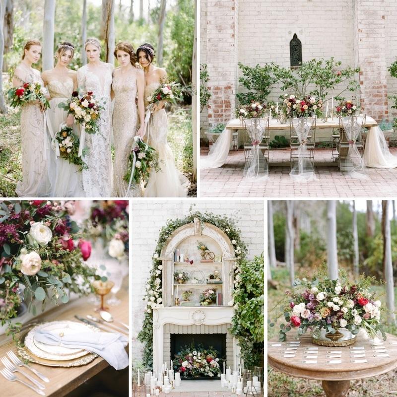 'Gilded Elegance' - Romantic Gold Wedding Inspiration