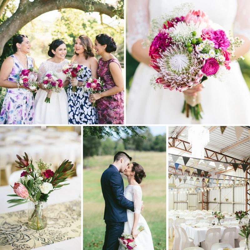 A Homespun & Heartfelt Country Wedding