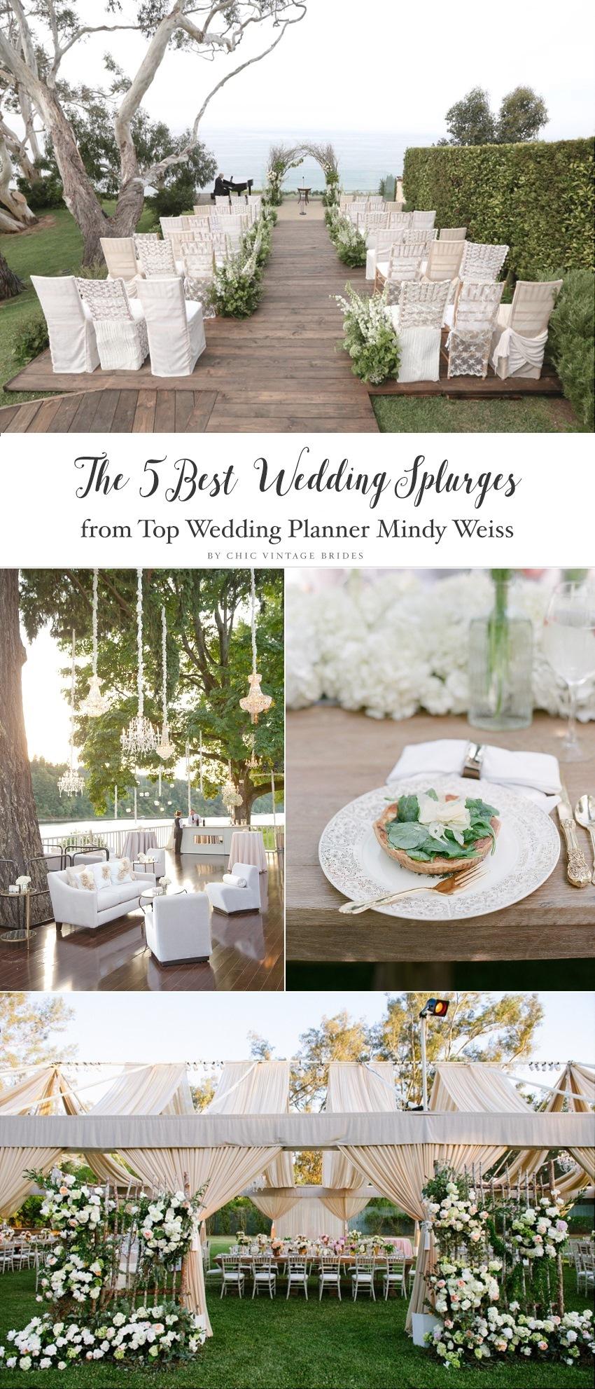 The Top 5 Wedding Splurges || Wow Factors for Your Wedding || 5 Unforgettable Wedding Details