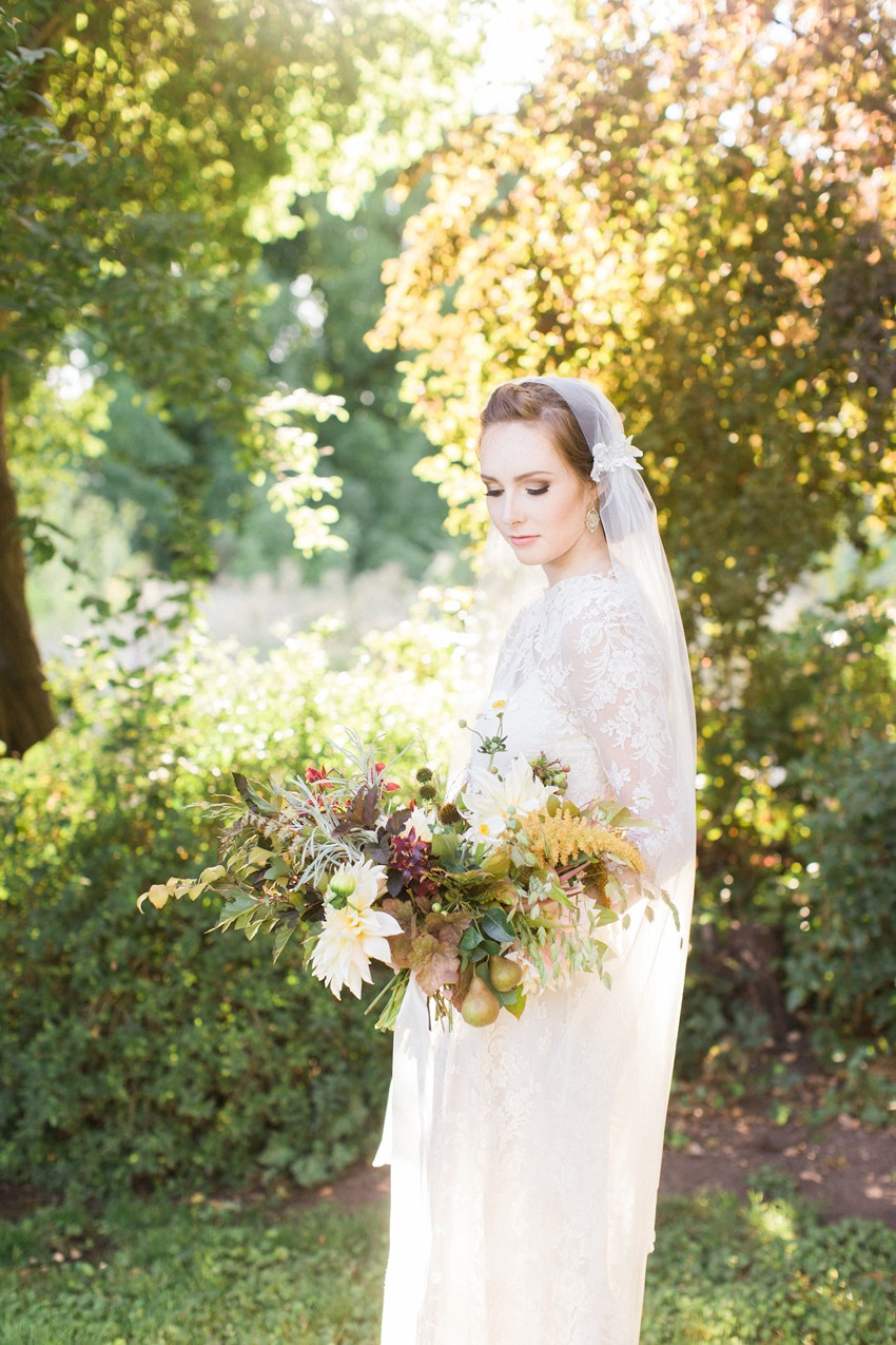 Vintage Anne of Green Gables Inspired Fall Bride // Photography ~ Anna Scott Photography