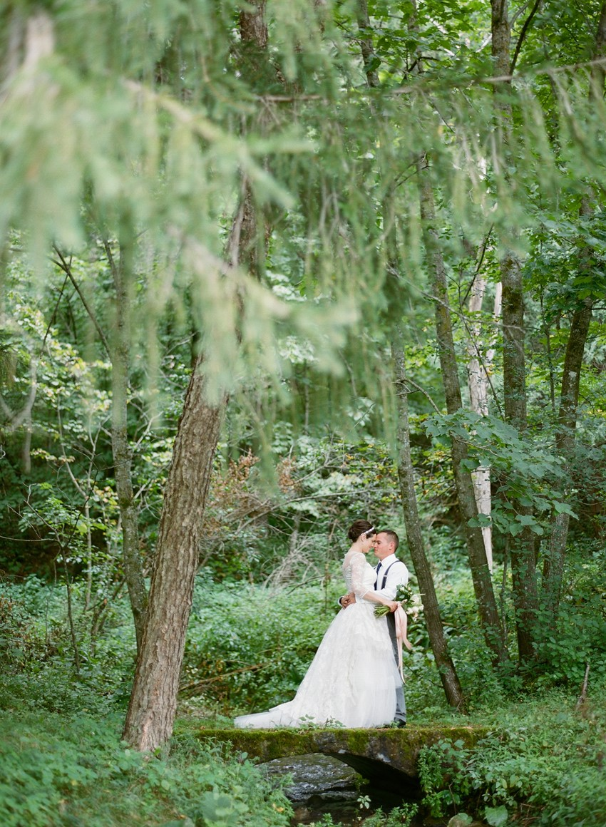 Romantic Wedding Portraits // Photography ~ Emily Steffen