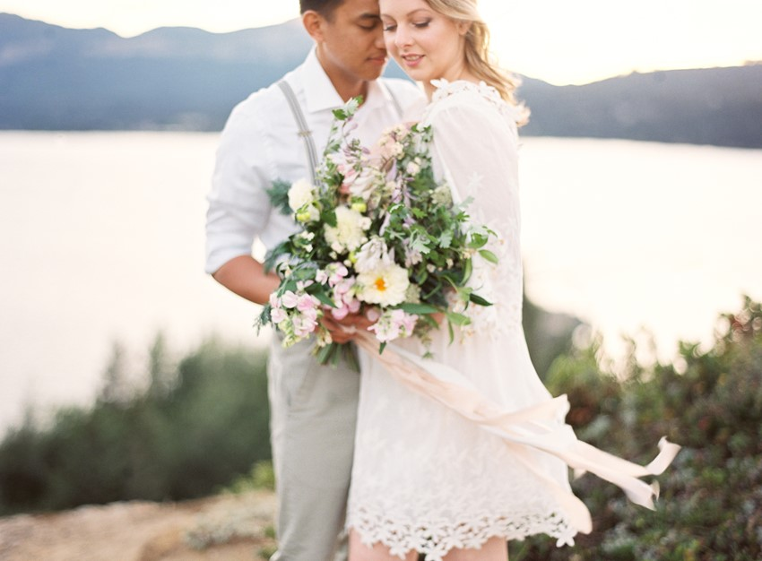 Romantic Lakeside Engagement Session