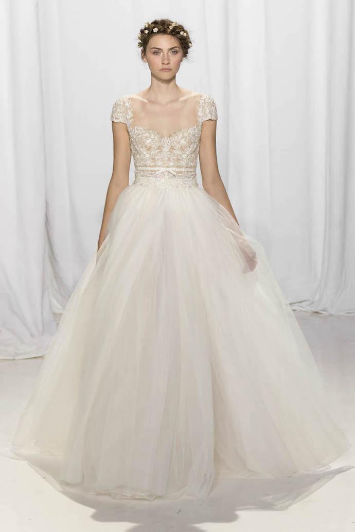 Romantic Wedding Dress from Reem Acra