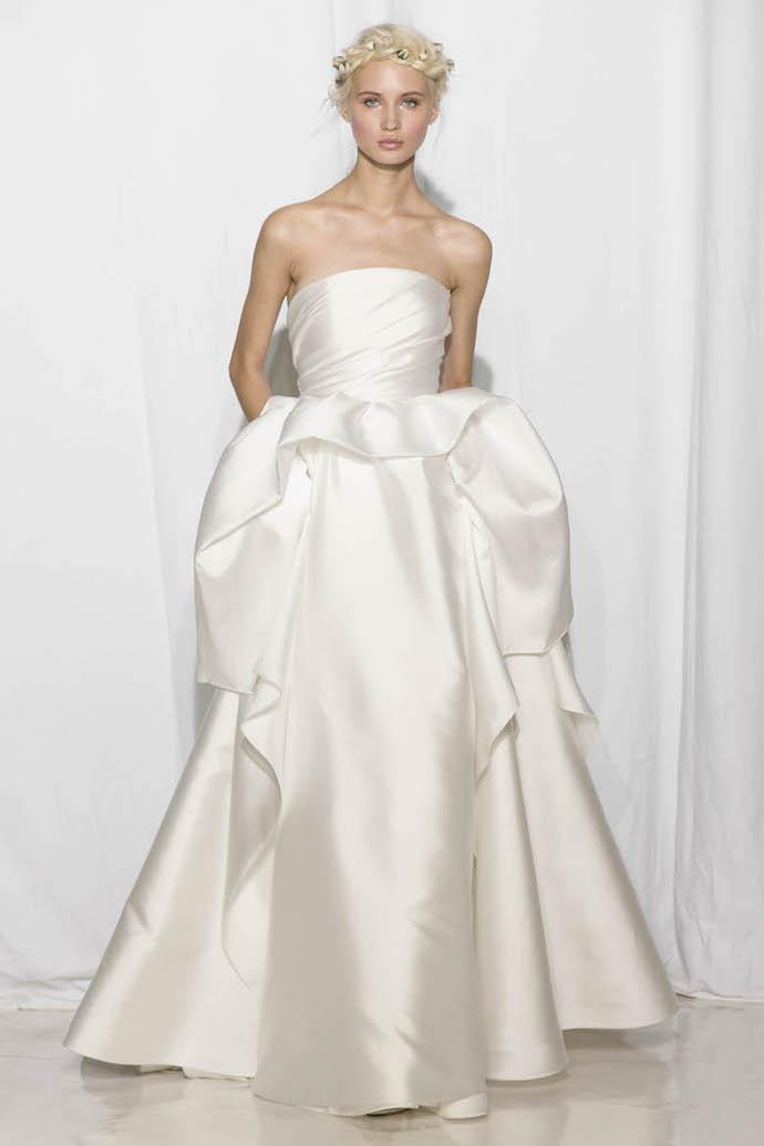 Chic Wedding Dress from Reem Acra