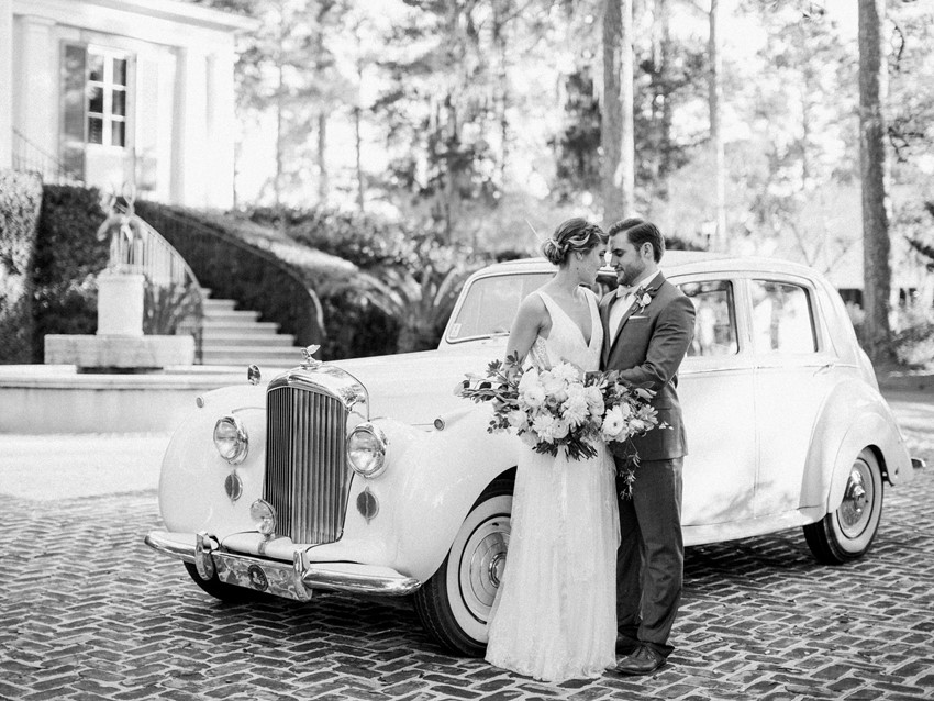 Beautiful black & white wedding portraits // Photography ~ Eden Willow Photography