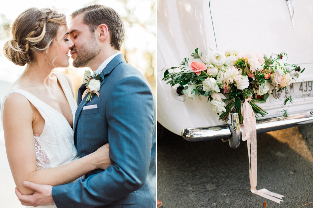 Vintage Wedding Getaway Car // Photography ~ Eden Willow Photography