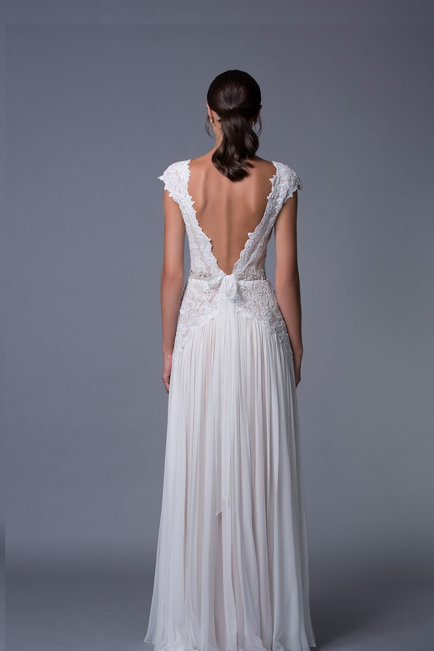 Aline V Back Wedding Dress from Lihi Hod's 2017 Collection