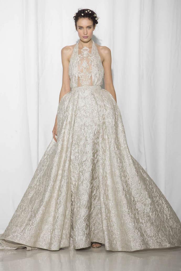 Stunning Princess Style Wedding Dress from Reem Acra
