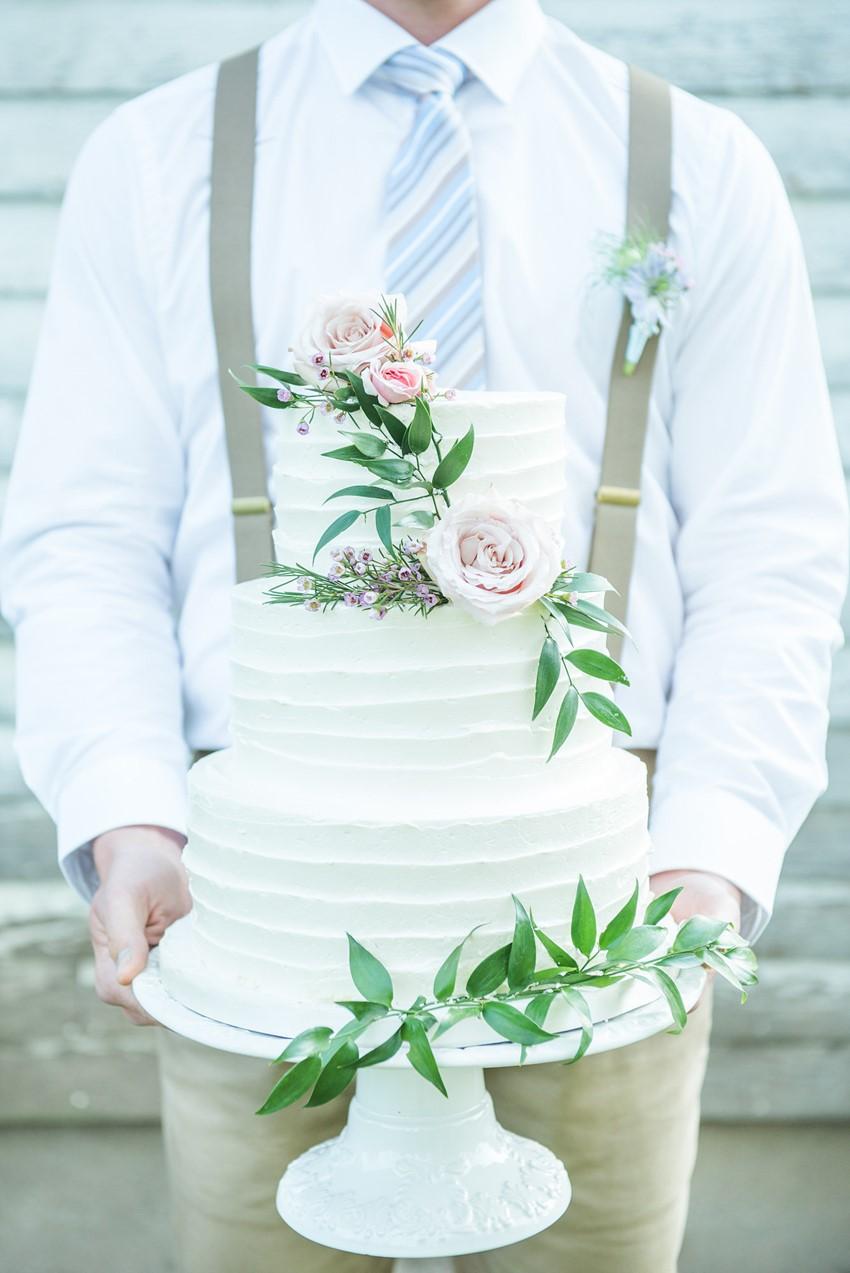 Groom & Wedding Cake // Photography ~ Injoy Imagery