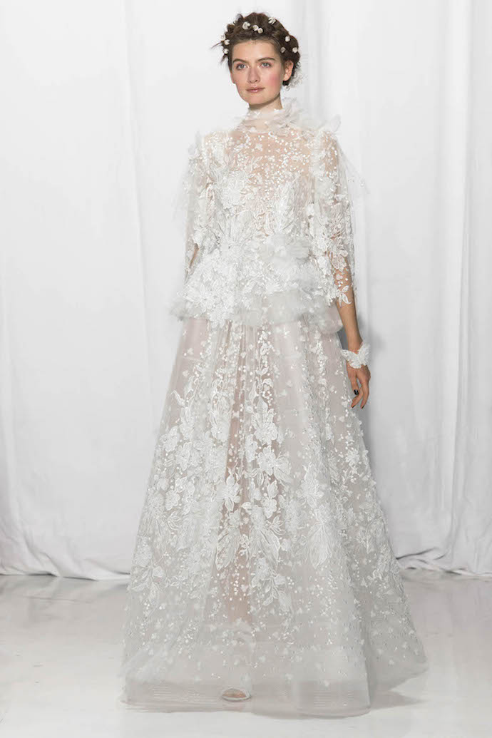 Stunning Long Sleeve Wedding Dress