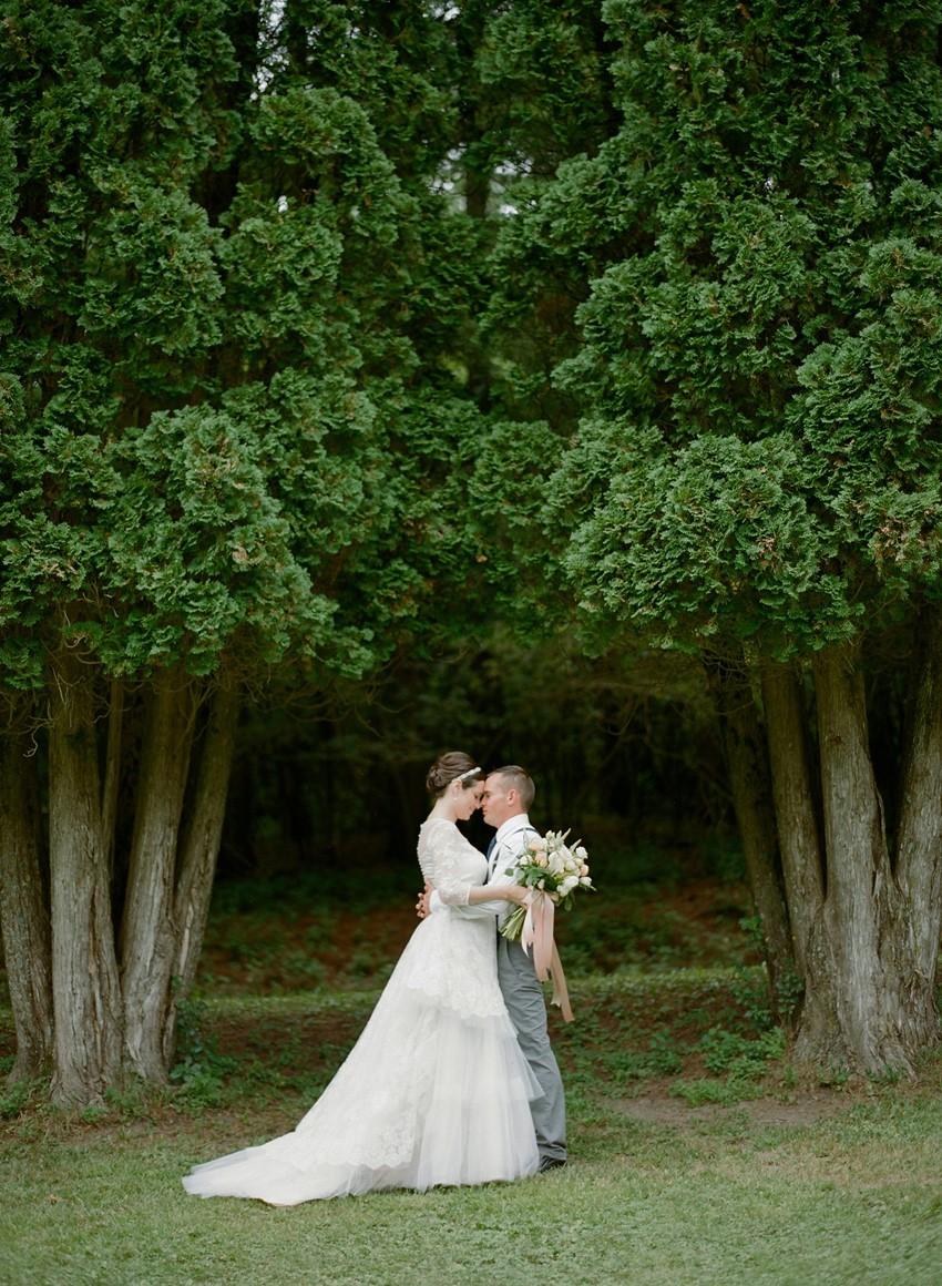 Romantic Wedding Portraits // Photography ~ Emily Steffen