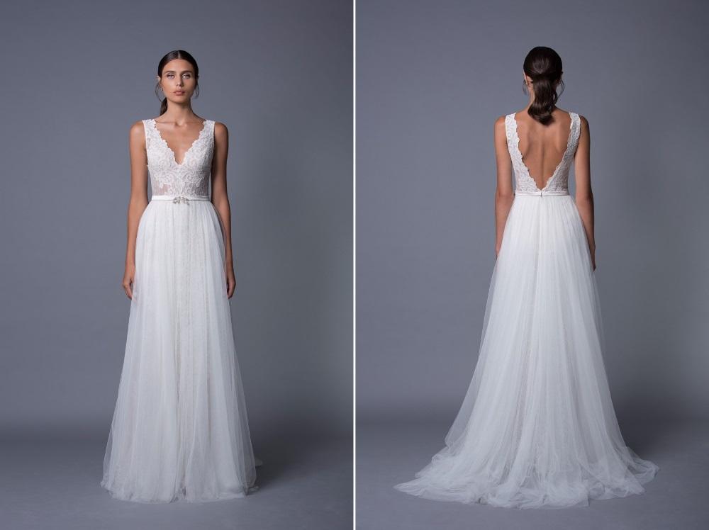 Carmen Tulle Skirt Wedding Dress from Lihi Hod's 2017 Collection