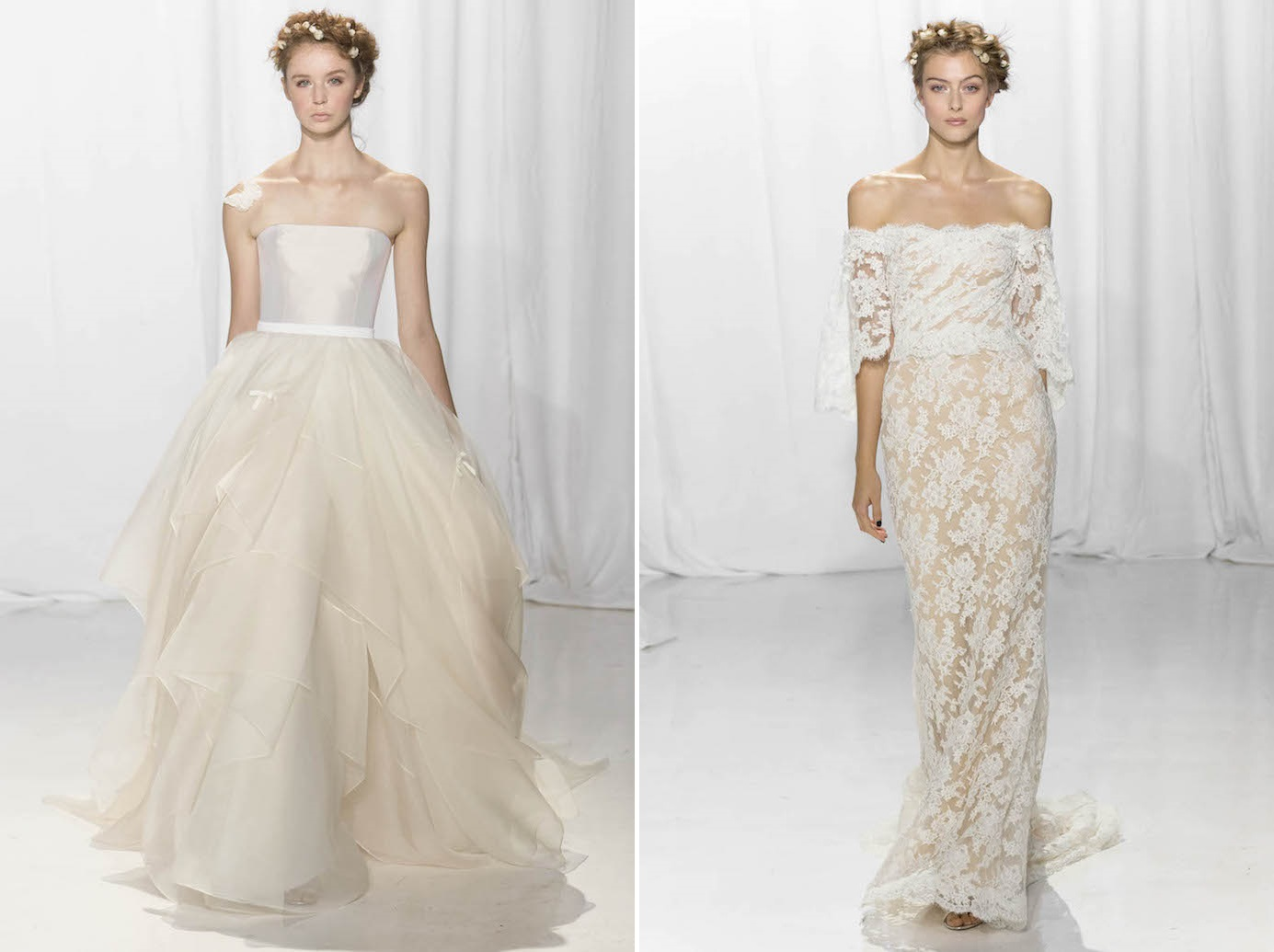 Reem Acra's Romantic 2017 Bridal Collection