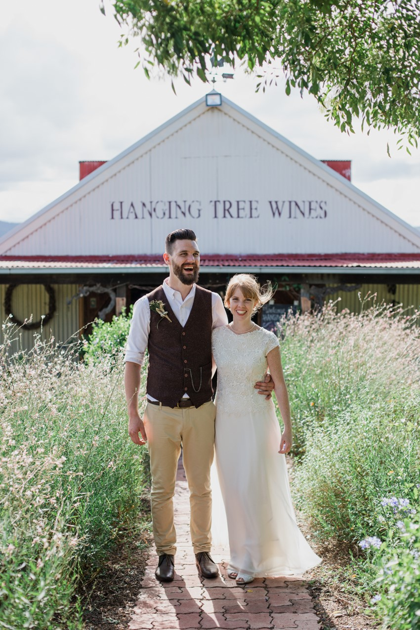 Rustic Vintage Winery Wedding // Photography ~ Bless Photography
