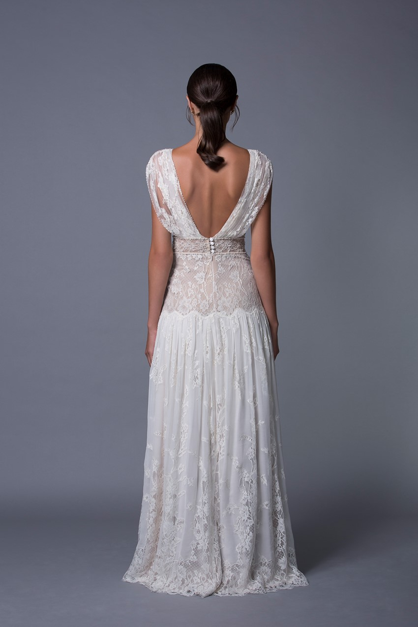 Alona Vintage Boho Wedding Dress from Lihi Hod's 2017 Collection