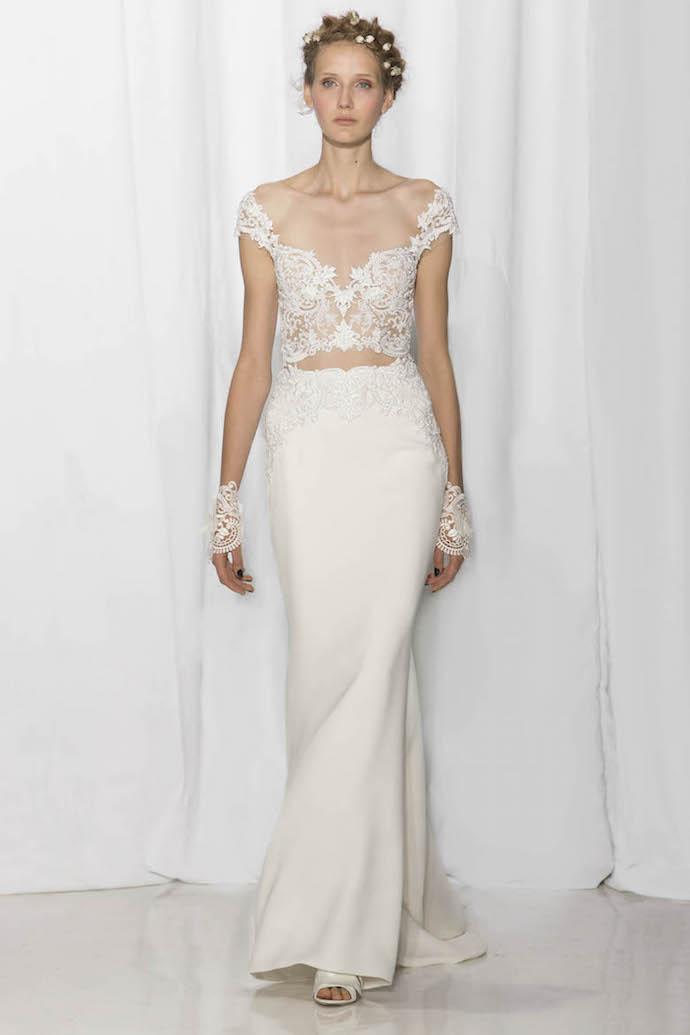 Elegant Bridal Separates from Reem Acra