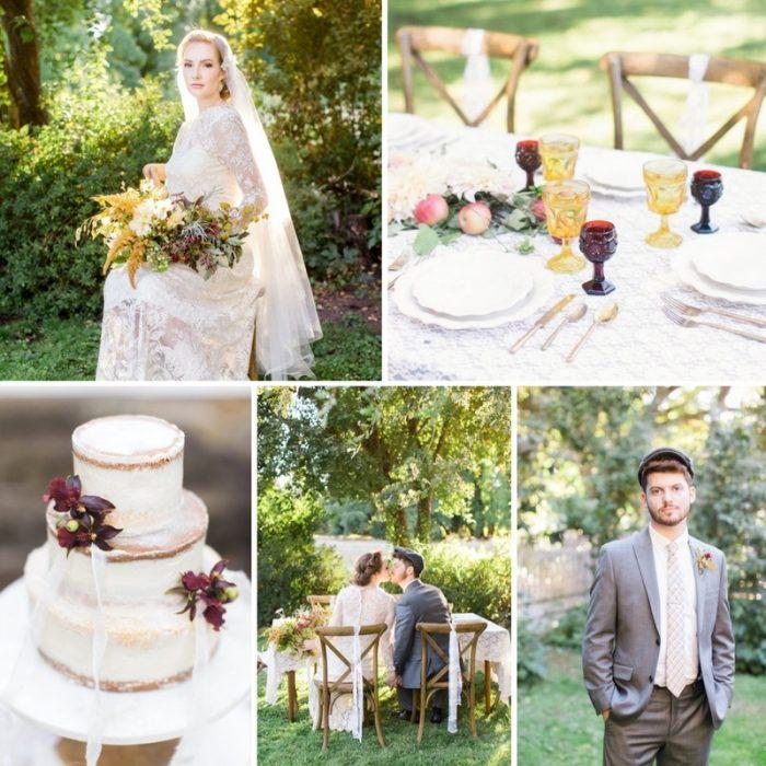 Elegant Fall Anne of Green Gables Wedding Inspiration // Photography ~ Anna Scott Photography