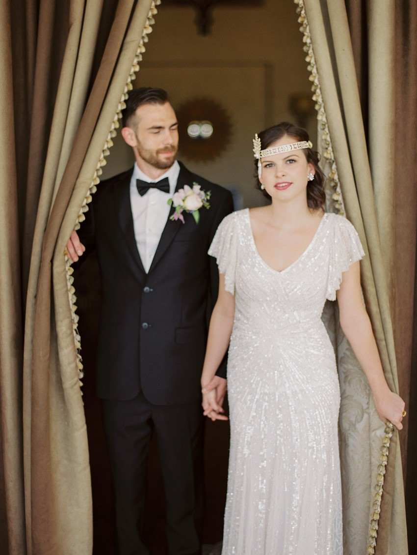 Great Gatsby Inspired Bride & Groom // Photography ~ CJK Visuals