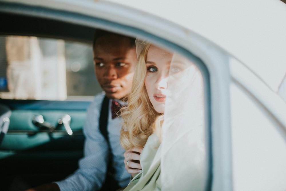 Mid-Century Elopement // Photography ~ Myranda Randle Photography