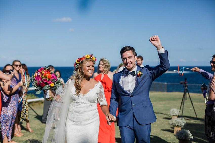 Coastal Boho- Vintage Wedding Ceremony