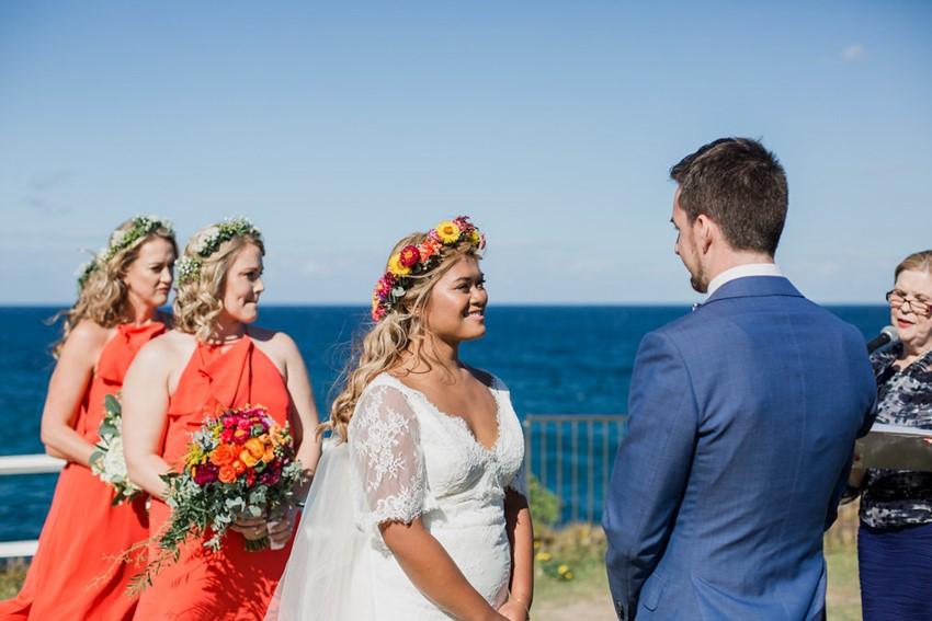 Coastal Wedding Ceremony // Photography ~ Bless Photography