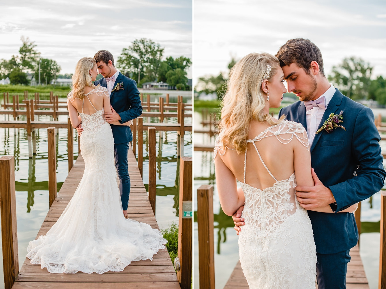 Beautiful Wedding Dress Back // Photogrpahy ~ Ashley D Photography
