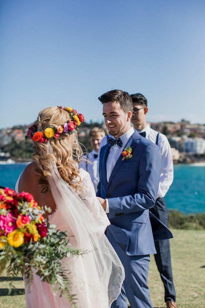 Coastal Boho- Vintage Wedding Ceremony // Photography ~ Bless Photography