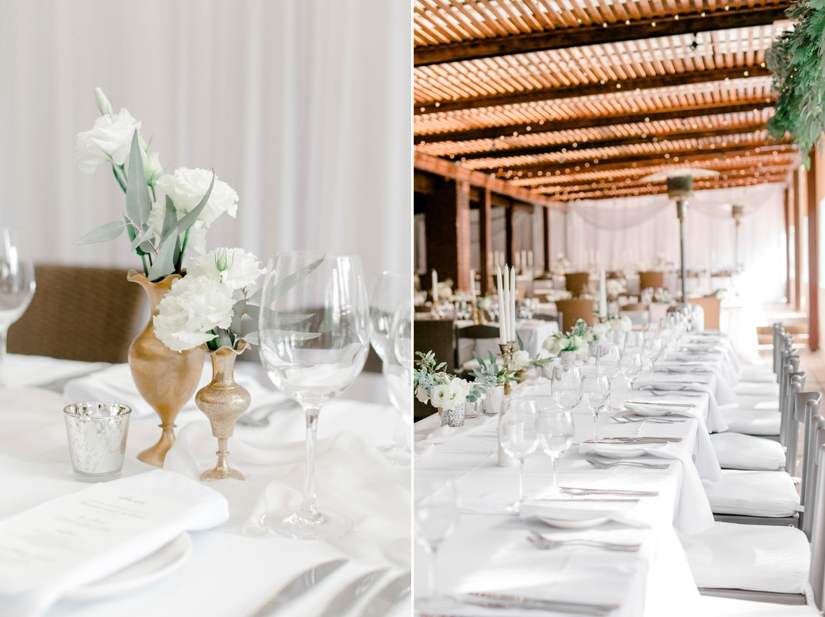 Romantic Modern-Vintage Wedding Tablescape