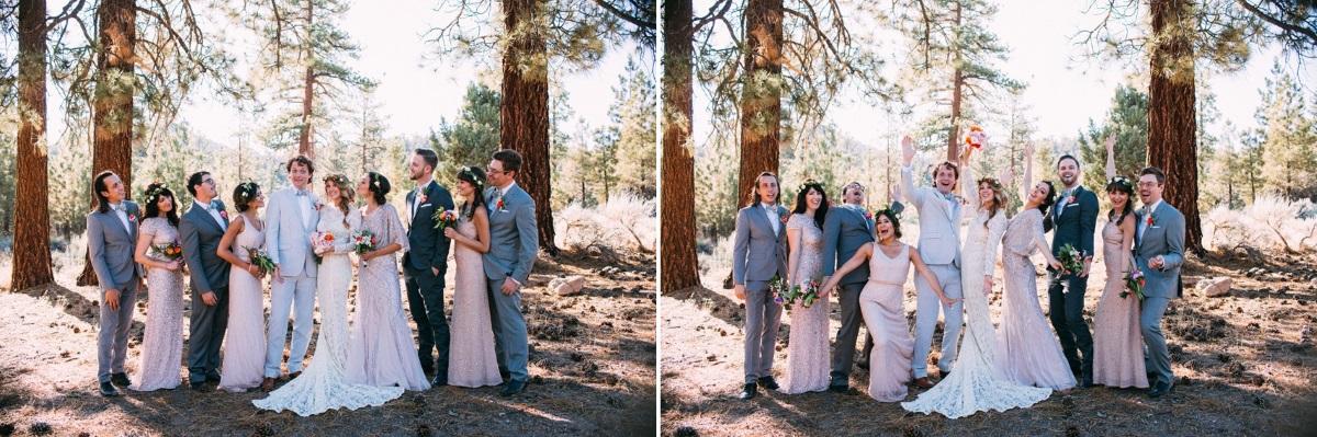 Boho Wedding Party // Photography ~ The Darlene