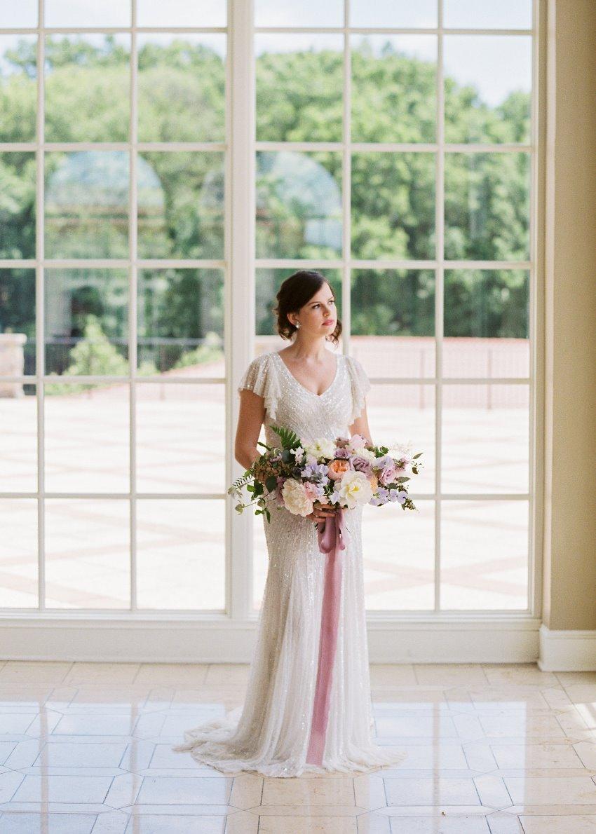 Art Deco Inspired Wedding Dress // Photography ~ CJK Visuals