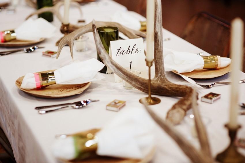 Rustic Desert Wedding Reception // Photography ~ Elizabeth Wells Photography