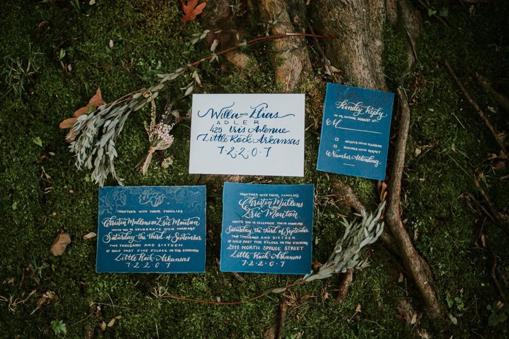 Wedding Stationery Suite // Photography ~ Myranda Randle Photography